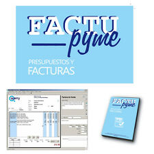 FACTUPYME - PROGRAMA PRESUPUESTOS Y FACTURAS - SOFTWARE