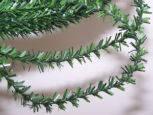 25-Feet-1-2-034-Mini-Fir-Pine-Garland-Wired-Christmas-Craft-Home-Decor