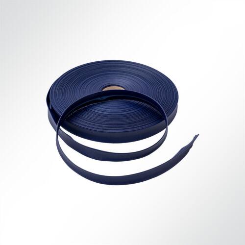 LKW-.. Stamoid Edge PVC-beschichtetes Einfassband navy 25mm für Markisenstoffen