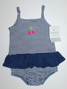 Clothing, Shoes & Accessories Adroit Carter's~spieler~usa~62-68~sommer~kleidchen~babykleid~blau~strampler~gestreift To Have Both The Quality Of Tenacity And Hardness Girls' Clothing (newborn-5t)