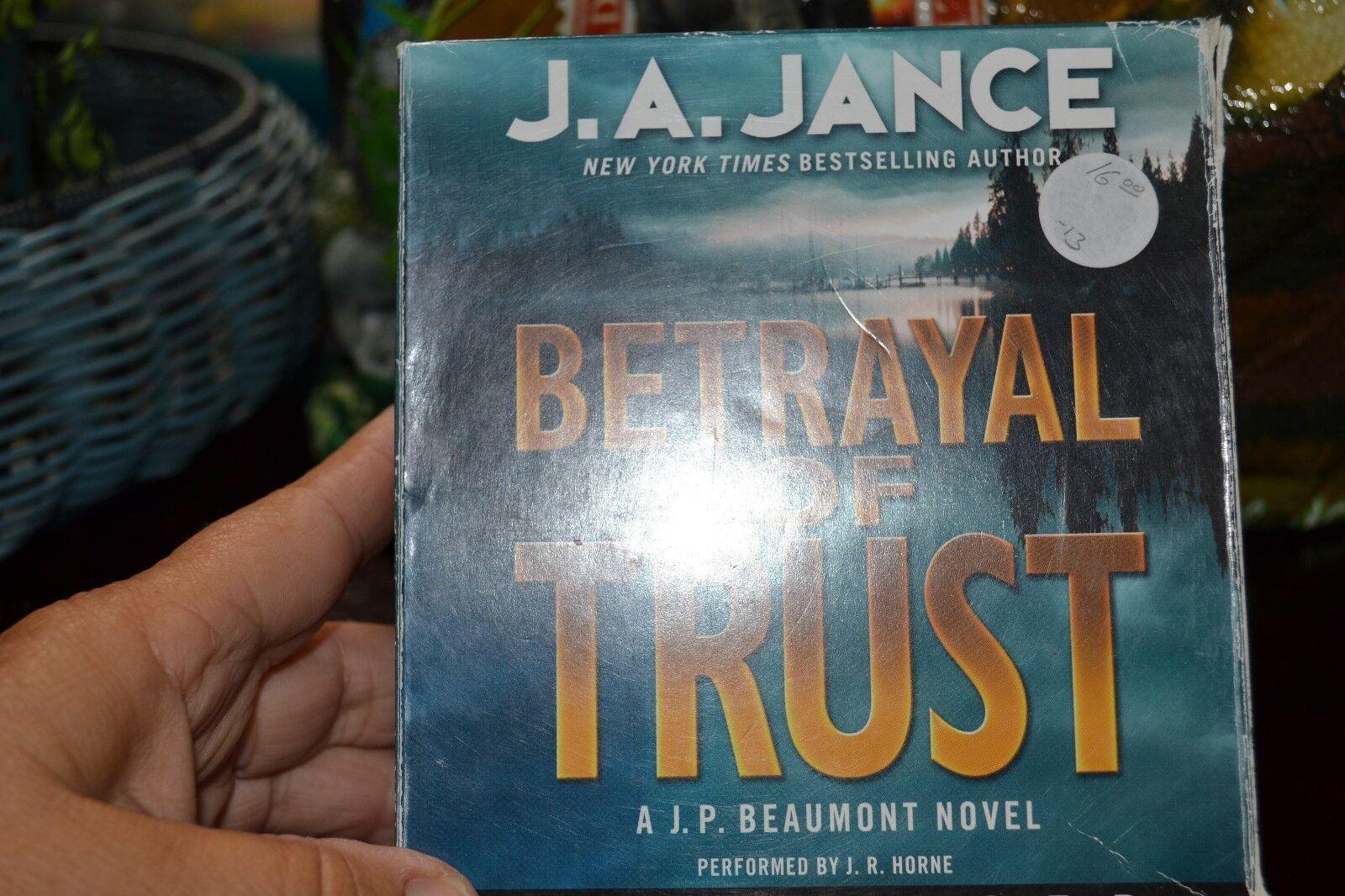 Betrayal of Trust: J. P. Beaumont Series, Book 20