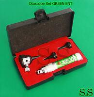 Otoscope Set Green Ent Medical Diagnostic Instruments Nt-919