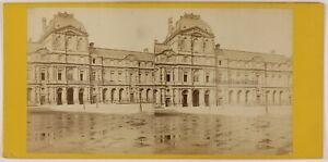 Museo Del Louvre Parigi Francia Foto ThL4n23 Stereo Vintage Albumina c1865