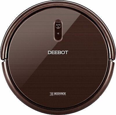 ECOVACS Robotics - DEEBOT N79SE Wi-Fi Connected Robot Vacuum - Espresso