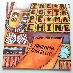 Anonima-Sonido-Ltd-maquina-de-cinta-roja-Lp-Vinilo-Italiano-Prog-1999-180g-reedicion