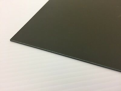 "2 Pack BLACK KYDEX T PLASTIC SHEET 0.060/"" X 8/"" X 12/"" VACUUM FORMING"