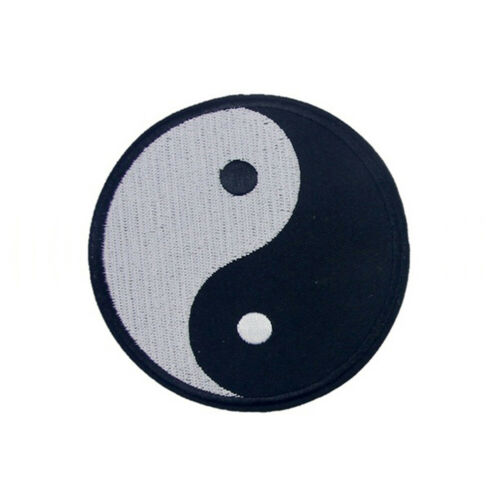 Chinese Yin-Yang Symbol DIY Applique Embroidered Sew Iron on Patch Sanwood