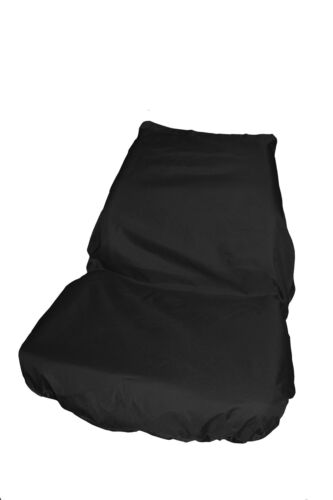 Ford Transit Custom Seat Cover-REAR CREWCAB Black TAILORED//WATERPROOF//WASHABLE