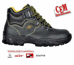 Scarpa antinfortunistica COFRA modello alto NEW DANUBIO S1 P SRC TG 40-46
