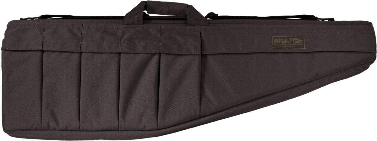 Elite, sistemas de supervivencia Rifle De Asalto caso Para 9mm Carabina 28  Negro-arc-b-1