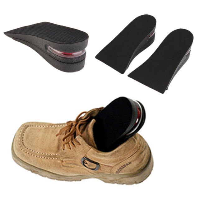2 Layer Air Up Height Increase Elevator Shoes Insole Lift 2 inches Taller Cj