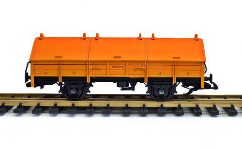 LGB Klappdeckelwagen, Umbau von Spur G auf Spur II (64mm), gebraucht