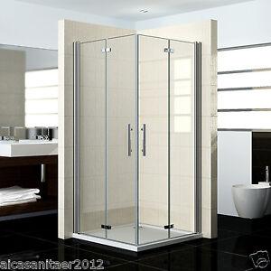 duschabtrennung duschkabine 180 schwingt r duschwand dusche faltt r eckeinstieg ebay. Black Bedroom Furniture Sets. Home Design Ideas