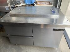 Continental Sw48 18m 48 Sandwichsalad Prep Station Table With2 Drawers1 Door