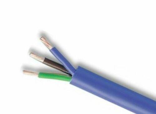 3183A 2.5mm Round Artic cable 3 core Blue 5 metre