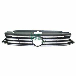 Radiator-Grill-Black-Chrome-Volkswagen-Passat-11-14
