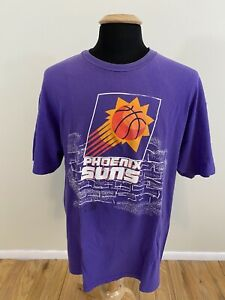 Vintage-NBA-Phoenix-Suns-Hanes-Beefy-T-Purple-Single-Stitch-Shirt-Men-s-Size-XL