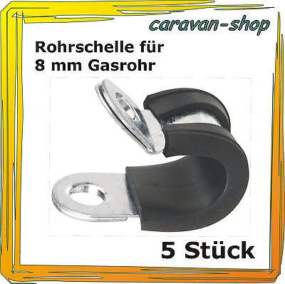 10 Stk Rohrschelle Schlauchschellen schlauchklemme Für Gasleitungen 8-32mm