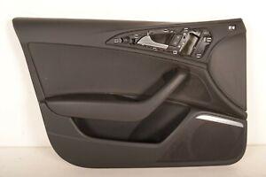 AUDI-A6-C7-2-0-TDI-2013-RHD-FRONT-LEFT-DOOR-CARD-TRIM-COVER-PANEL-4G2867021A