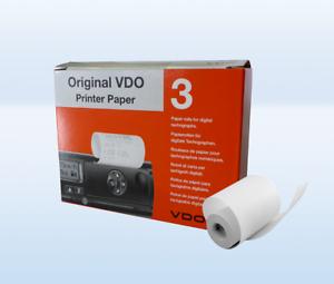 3 Paquet Avec Chaque 3 Rouleaux Original VDO Papier Imprimante Dtco