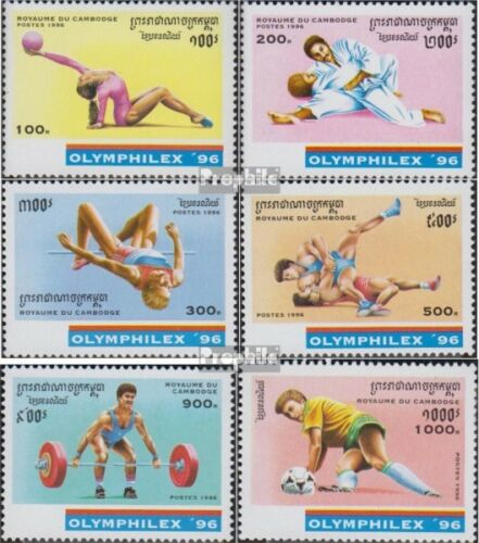 Cambodia 15981603 complete issue unmounted mint never hinged 1996 Sportdisz