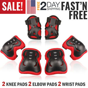 Kids-Knee-Elbow-Pads-Guards-Protective-Safety-Gear-Set-Roller-Skate-Cycling-Bike