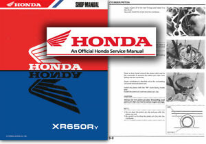 honda xr650r service workshop repair shop repair manual xr650 xr 650 rh ebay ie honda xr650l service manual honda xr650l service manual