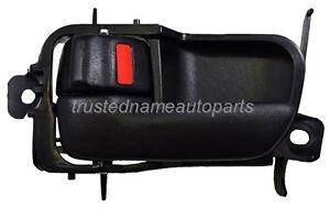 fits Toyota Inside Interior Door Handle Front Rear Left Driver Side Black
