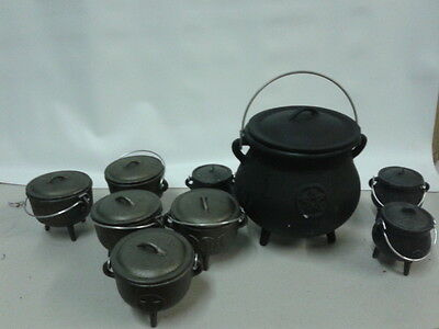 .CAST IRON CAULDRON -
