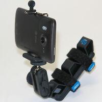 Fv 4in1 Helmet Phone Mount For Tracfone Lg 840g 440g 530g Optimus Dynamic 221c