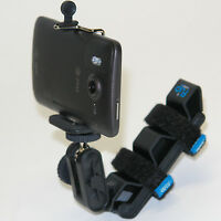 Fv 4in1 Helmet Phone Mount For Tracfone Lg 840g 440g 530g Optimus Dynamic 221c
