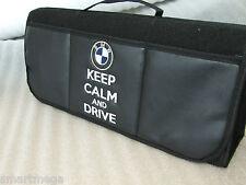Keep Calm y Dirección BMW - Coche Organizador De Maletero Organizador