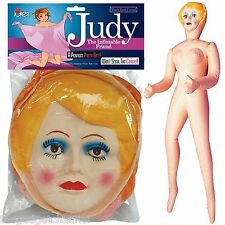 5FT INFLATABLE BLOW UP GIRL WOMAN FEMALE DOLL FUNNY MENS NOVELTY PRANK PRESENT