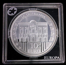 MALTE - 10 EURO EN ARGENT 2009 - LA CASTELLANIA - RARE!!!!
