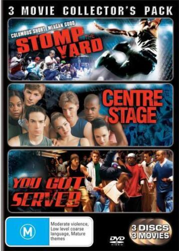1 of 1 - Stomp Yard / Centre Stage / You Got Served (DVD, 2008, 3-Disc Set)