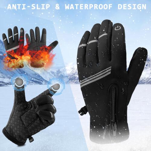Details about  /Men Women Winter Warm Gloves Windproof Waterproof Touch Screen Motorcycle Ski