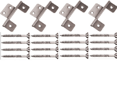 Mobile Home Parts 2 New Butterfly Hinges Satin Nickel