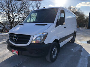 2016 Mercedes-Benz Sprinter Van SWB|Low Roof|Back Up Cam|Accident Free|