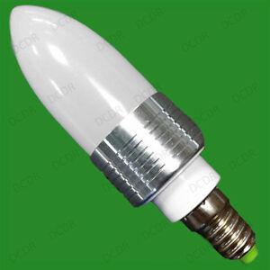 8-x-3W-LED-Ultra-Bassa-Energia-6400K-Luce-Bianca-Lampadine-A-Candela-E14-SES