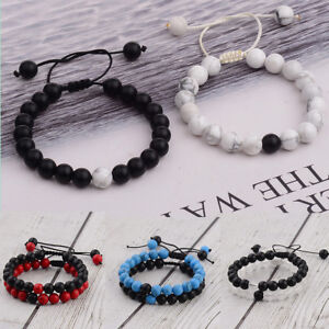 2Pcs-His-amp-Hers-Distance-Weave-Women-Men-Natural-Stone-Couple-Bracelets-Gift