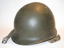Original WWII US Military McCord fixed-bale M1 helmet
