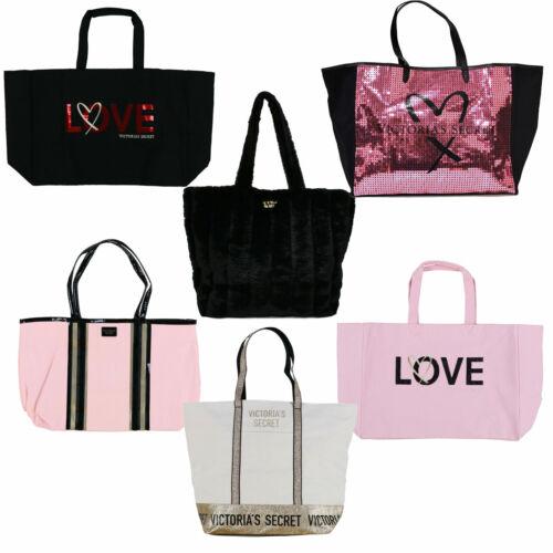 Victoria/'s Secret Sac Fourre-tout grand cabas Bling Logo Transporter Tout Voyage vs New Neuf avec étiquette