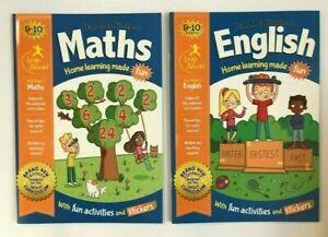 Leap-Ahead-Workbooks-Ensemble-Ages-9-10-KS2-Anglais-et-Maths-An-5-Tout-Neuf