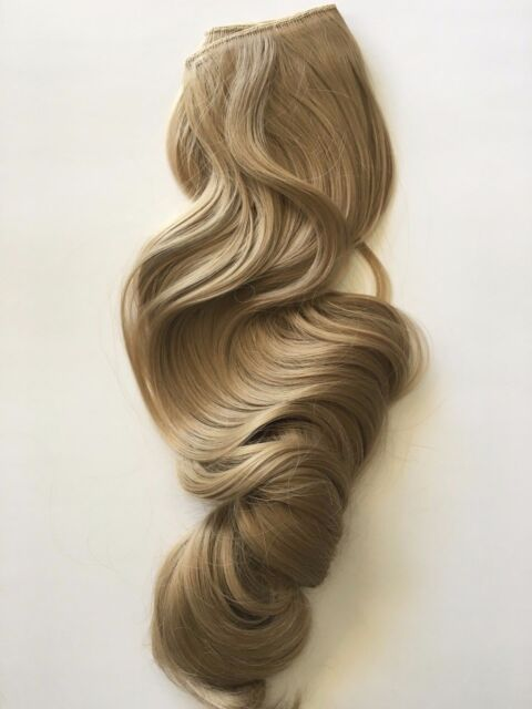 Ash Blonde 16 Halo Style Flip In Wire Hair Extensions 20 Princess