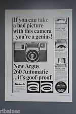 R&L Ex-Mag Advert: Argus 260 Automatic Camera