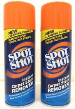 Spot Shot Instant Carpet Stain Remover Works Great On Pet Stains (2-Pack) 14Ozea