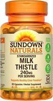 Sundown Milk Thistle 240mg , 60 Capsules Ea (pack Of 4) on sale