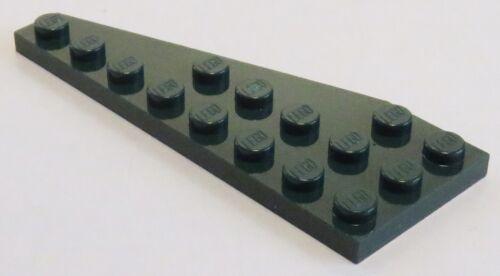 dunkelgrün # 50304 Platte / Plate 8 x 3 rechts LEGO 2 Stück