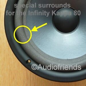Infinity-Kappa-80-gt-4x-Foam-backs-specially-made-for-repair