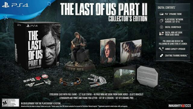 The Last Of Us Part 2 Collector's Edition (Everything Included) Brand New